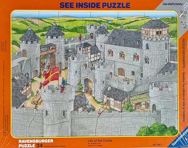 "Puzzle ""Live at the Castle"""